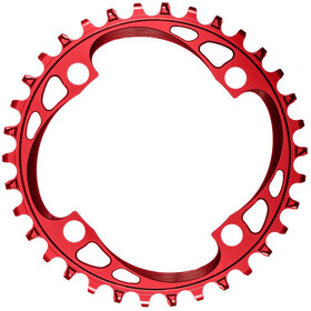 absoluteBLACK Corona dentata 104BCD per SRAM XX1, red